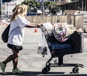 Homeless_Female_Cart